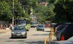 Avenida Prefeito Sylvio Picanço, em Charitas, sofrerá interdições Foto: Guilherme Leporace / Agência O Globo