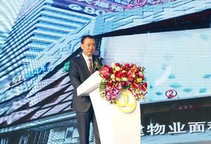 Wang Jianlin anuncia a compra do estúdio Legendary Foto: CHINA DAILY / REUTERS