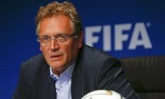 Valcke foi demitido da Fifa em setembro Foto: ARND WIEGMANN / REUTERS