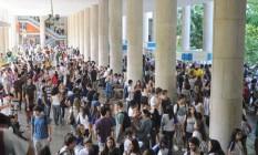 Preços das mensalidades escolares pesaram no índice deste mês Foto: Divulgação/PUC-Rio