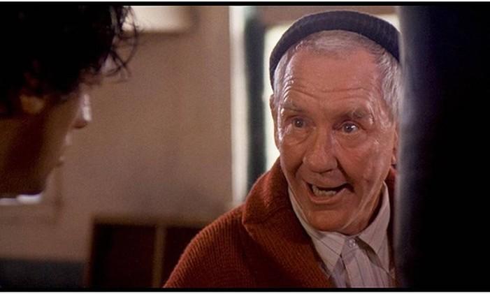 Mickey (Burgess Meredith) em 'Rocky: Um lutador' Foto: Reprodução