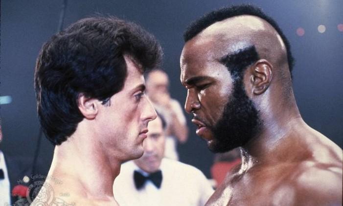 Mr T como Clubber Lang em 'Rocky III' Foto: Reprodução