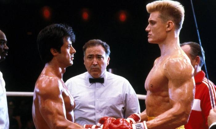 Cena de 'Rocky IV' Foto: Reprodução