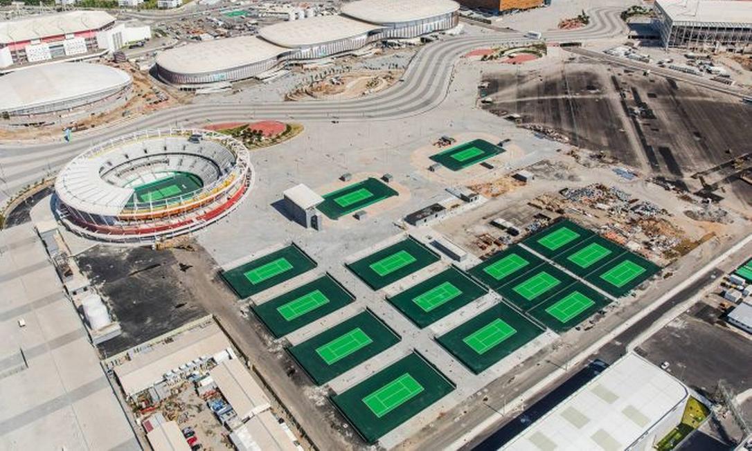 As obras estão 95% concluídas a sete meses dos Jogos Olímpicos Divulgação/Prefeitura do Rio