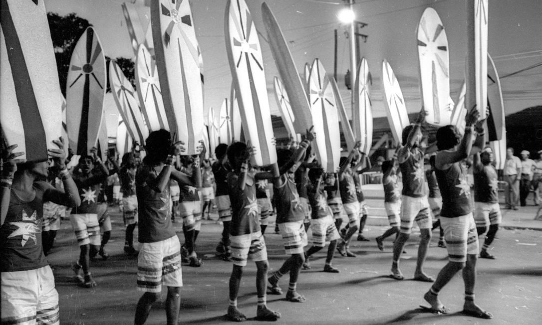 Ala representou o surfe com prancha de isopor, diversão de domingo Paulo Moreira / Agência O Globo