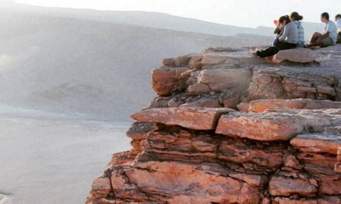 O Deserto do Atacama Foto: @thatiany / Instagram