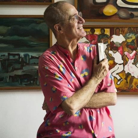 O produtor e compositor musical Rildo Hora Foto: Ana Branco / Agência O Globo
