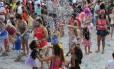 Folia. Festa de rua agita o centro de Nova Friburgo durante o carnaval