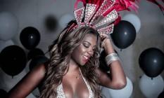 A funkeira Ludmilla Foto: Jorge Badaue/Ed.Globo