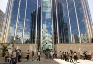 Estatal. Centro Empresarial Senado, no Rio: funcionários da Petrobras começaram a ocupar o prédio em 2013 Foto: Márcia Foletto/20-08-2013