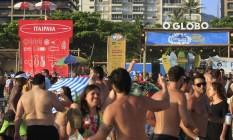 RIO - 10/01/2016 - Rio de Janeiro (RJ) - Verão - Ipanema Verão Rio Na foto: Miss Cady Foto: Luiz Ackermann / Agência O Globo Foto: Luiz Ackermann / Agência O Globo