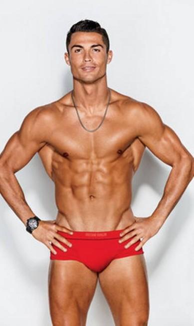 O corpo musculoso de CR7 Reprodução
