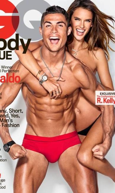 """A capa da """"GQ"""" de fevereiro. A edição é dedicada ao corpo Reprodução"""