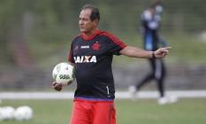 Muricy Ramalho comanda treino do Flamengo Foto: Divulgação Flamengo/Gilvan de Souza