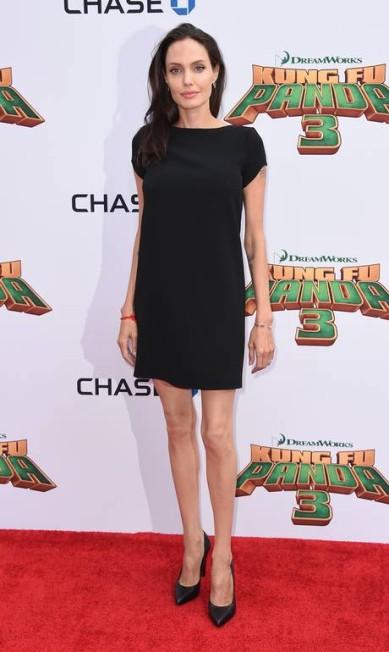 Angelina Jolie: silhueta fininha da atriz chamou a atenção no evento Jordan Strauss / Jordan Strauss/Invision/AP