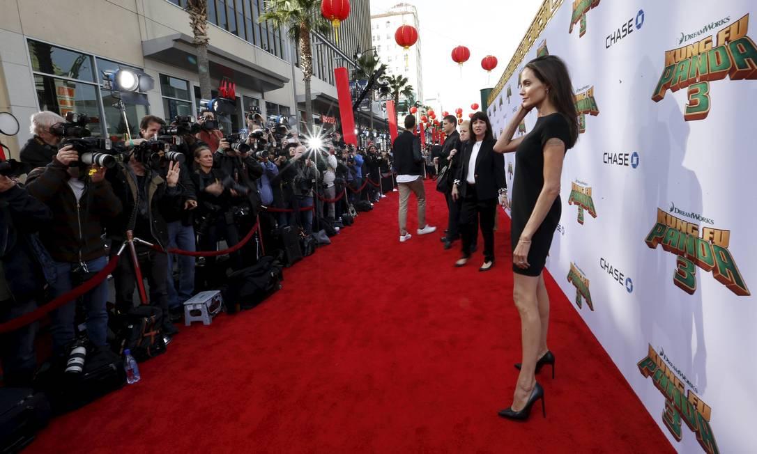 Um outro ângulo de Angelina Jolie MARIO ANZUONI / REUTERS