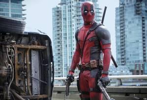 """Ryan Reynolds em cena de """"Deadpool"""". Foto: Reprodução/ The Hollywood Reporter"""