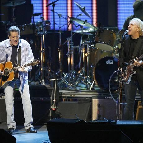 Glenn Frey durante um show em 2007 Foto: Gus Ruelas / AP