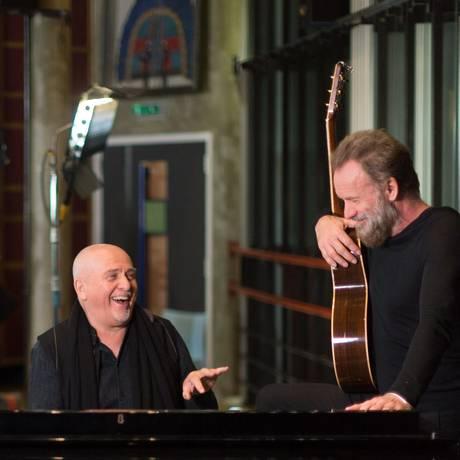 Peter Gabriel e Sting farão turnê em conjunto na América do Norte Foto: York Tillyer / AP
