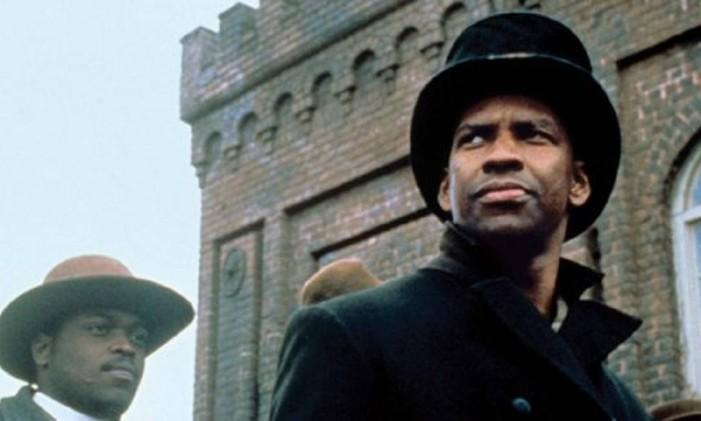 Denzel Washington em 'Tempo de glória' Foto: Reprodução
