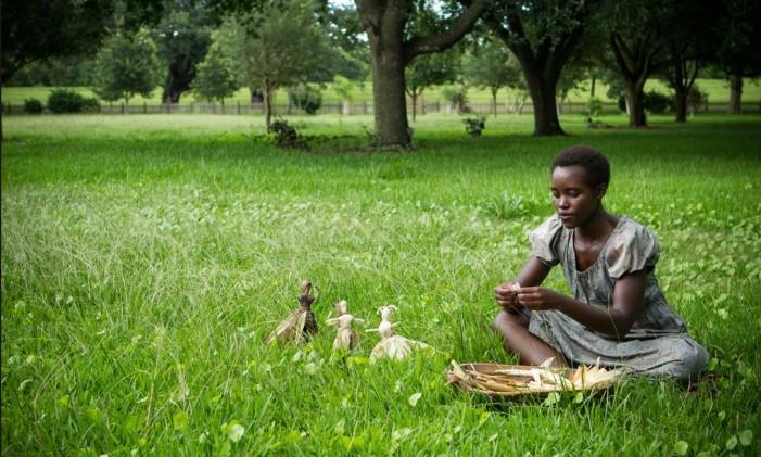 Lupita Nyong'o em '12 anos de escravidão' Foto: Reprodução