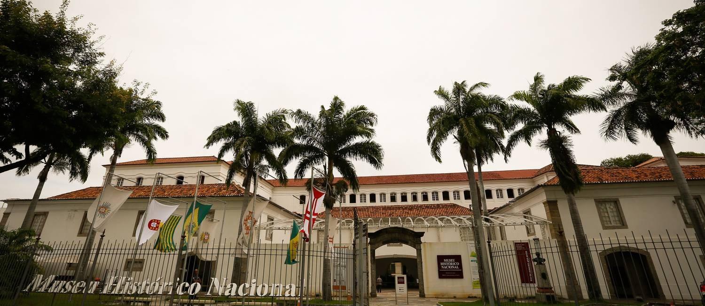Fachada do Museu Histórico Nacional Foto: Pablo Jacob / Agência O Globo
