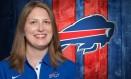 Kathryn Smith, assistente técnica do Buffalo Bills Foto: Divulgação
