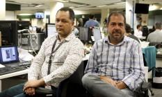 Aloy Jupiara (à esquerda) e Chico Otávio: ampla pesquisa Foto: Gustavo Stephan/ 07-10-2013
