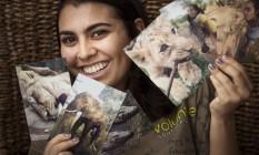 A estudante Ana Braz foi cuidar de animais da África do Sul Foto: Leo Martins / Agência O Globo