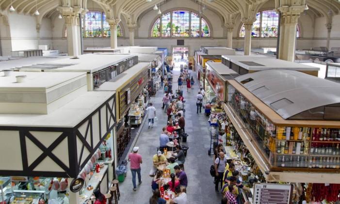 Mercado Municipal de São Paulo Foto: Jose Cordeiro / SPTURIS