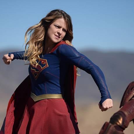 A Supergirl de Melissa Benoist Foto: Reprodução/IMDB