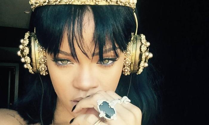 A cantora Rihanna Foto: Reprodução