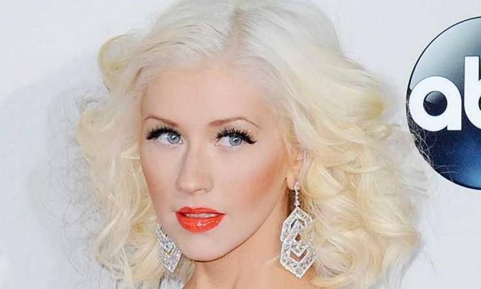 A cantora Christina Aguilera Foto: Divulgação