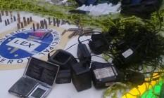Material foi apreendido na tarde de segunda-feira Foto: Divulgação / Ascom Niterói