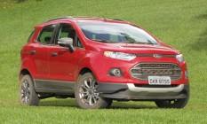 Ford EcoSport 2013, equipado com câmbio PowerShift, pode apresentar problemas Foto: Divulgação