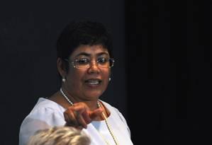 A ex-ministra da Casa Civil Erenice Guerra Foto: Fabio Rodrigues Pozzebom / Agência O Globo/26-1-2016