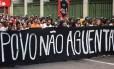 Protesto do MPL nesta terça-feira em SP: sexto ato contra aumento da tarifa