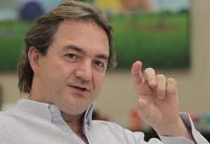 O empresário Joesley Batista Foto: Eliaria Andrade / Agência O Globo / 31-5-2015