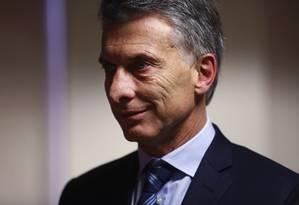 Medidas em série: Maurício Macri: para analistas, ele deve reajustar tarifas de água e gás Foto: Simon Dawson / Bloomberg
