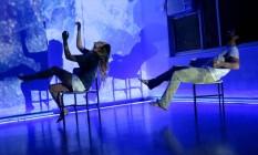 Em alta. Espetáculo do curso de teatro da Universidade Candido Mendes: escola recém-inaugurada Foto: Divulgação