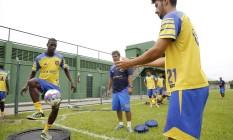 Madureira se prepara para o Campeonato Carioca: Tricolor Suburbano sonha alto Foto: Fabio Rossi / Agência O Globo