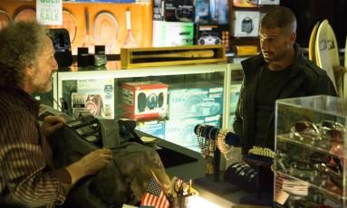 O ator Jon Bernthal como o Justiceiro em cena de 'Marvel's Daredevil', da Netflix Foto: Divulgação