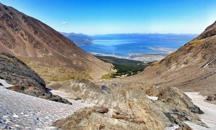 Cerro Matrial, Ushuaia, Argentina Foto: @tybronks / Instagram