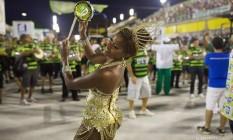 Cris Alves, a musa do salgueiro é rainha de bateria da Cubango Foto: Divulgação