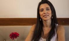 Líder. A nutricionista Andrea Mosqueira administra o Mr. Lenha Foto: Hermes de Paula / Agência O Globo
