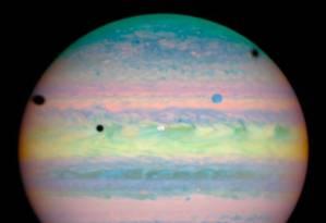 Júpiter: deslocamento do planeta era calculado pelos babilônios Foto: Divulgação/Nasa