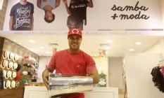 Após receber prêmio, Leal vislumbra oferecer franquias e lançar a marca no exterior Foto: Fabio Rossi / Agência O Globo
