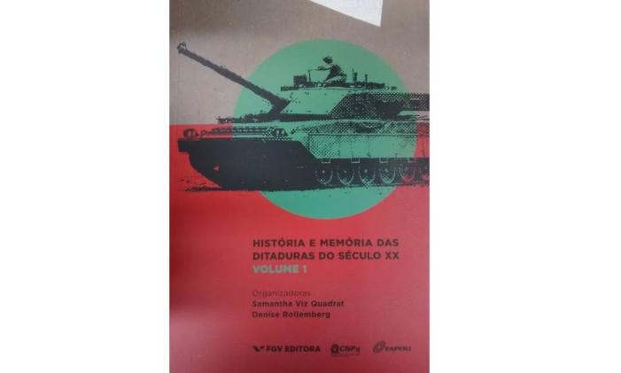 """Capa de """"História e memória das ditaduras do século XX (vol. 1)"""" Foto: Reprodução"""