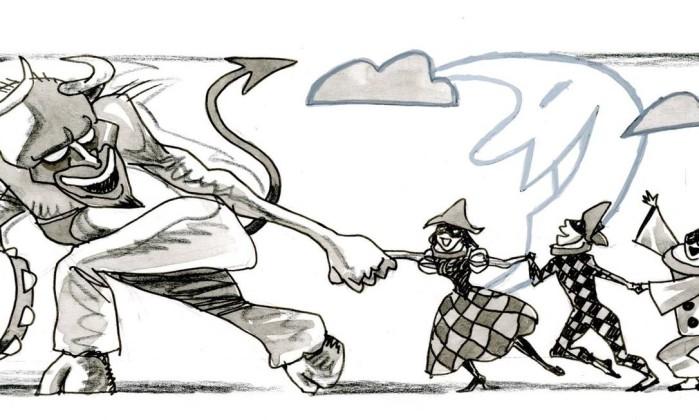 OP Rio de Janeiro (RJ) 28/01/2016 Opinião - página 48 para o dia 30/01 - Rosiska Darcy de Oliveira. Desenho Marcelo Foto: Agência O Globo