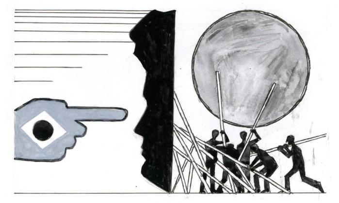 OP Rio de Janeiro (RJ) 28/01/2016 Opinião - página 48 para o dia 29/01 - Rogério Furquim Werneck. Desenho Marcelo Foto: Agência O Globo